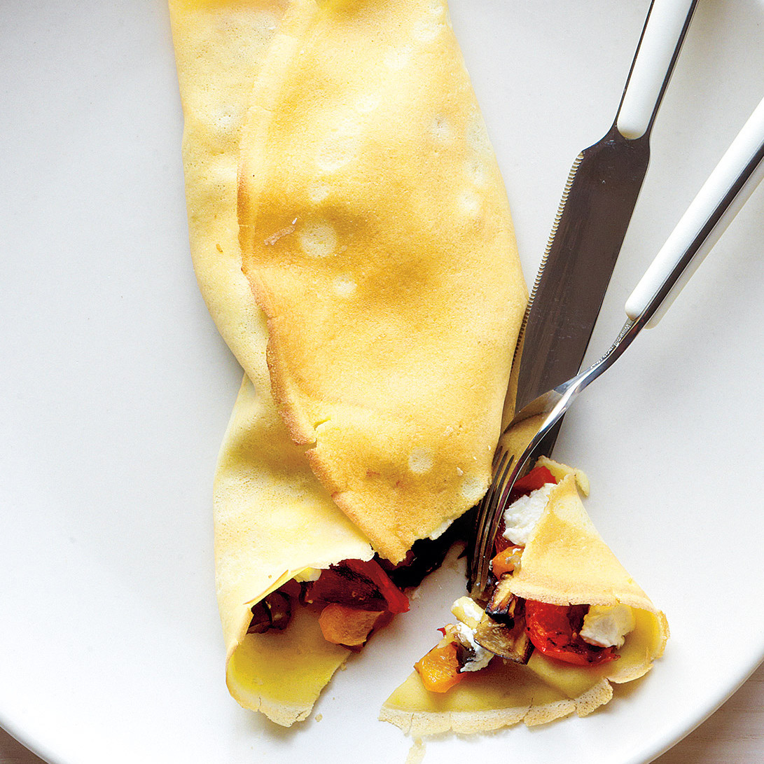 how to make savory crepes from scratch
