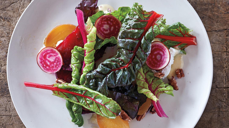 Beet Salad With Honey Lavender Dressing