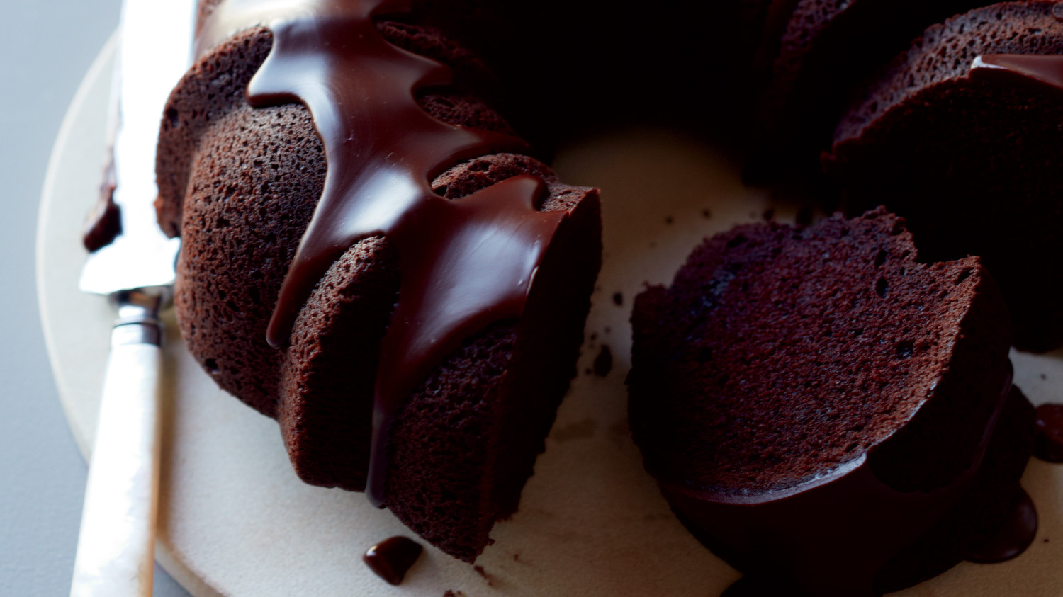 Made From Scratch Chocolate Pound Cake