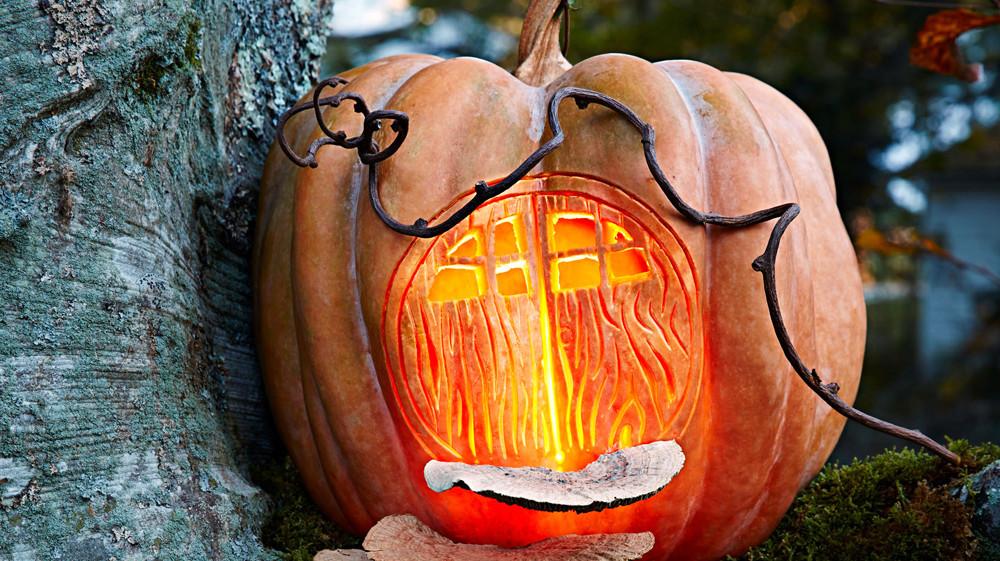 Fairy House Pumpkin