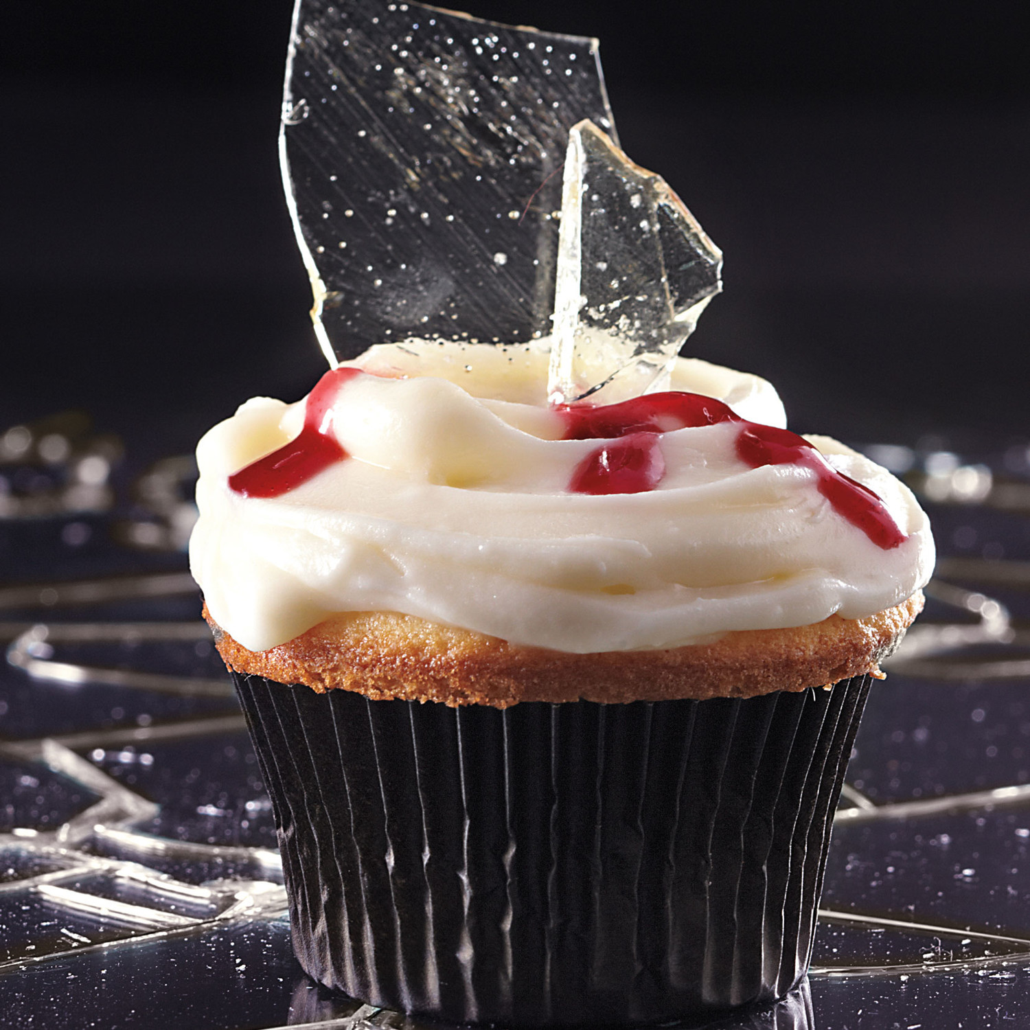 """Broken Glass"" Cupcakes Recipe"