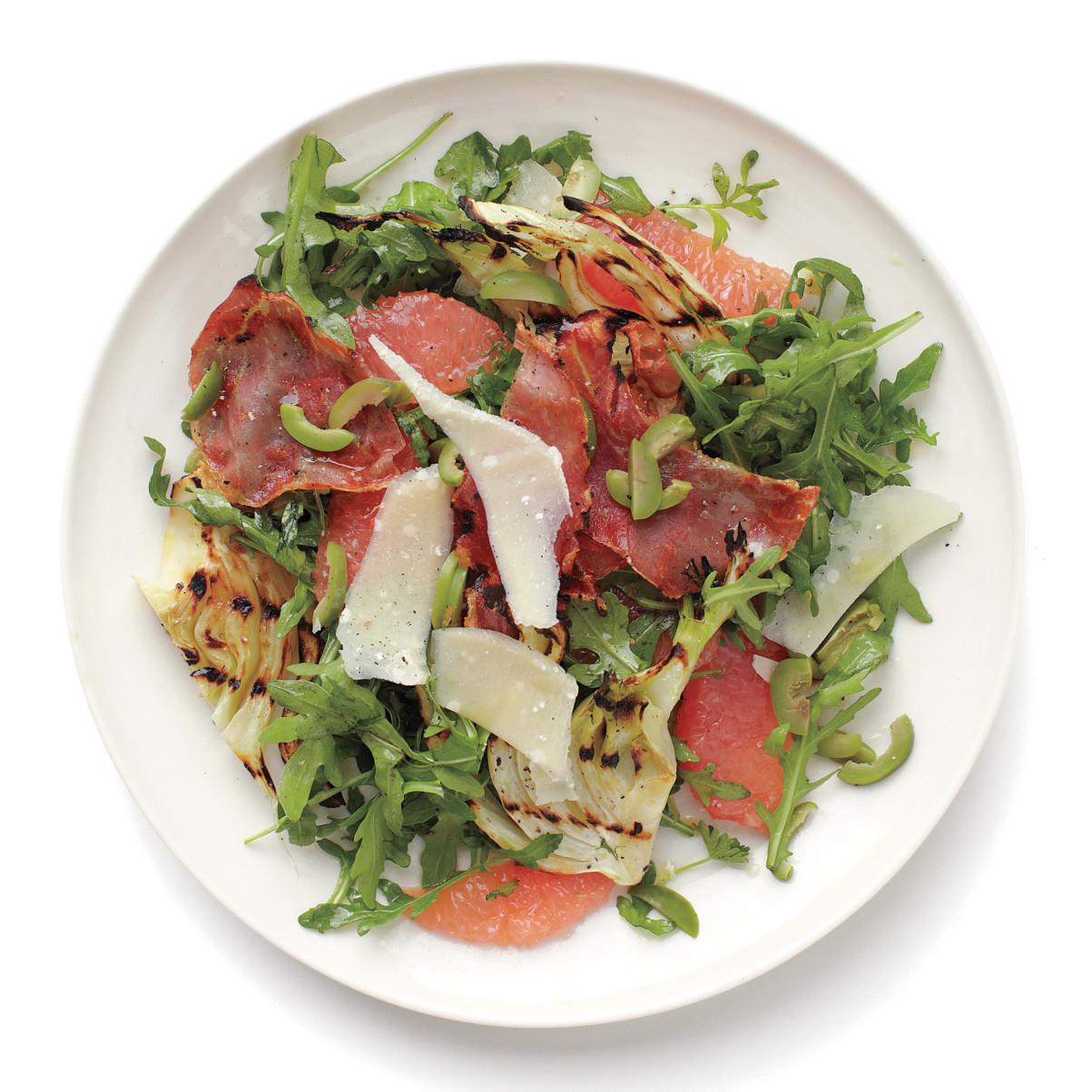 Grapefruit and Grilled Fennel Salad