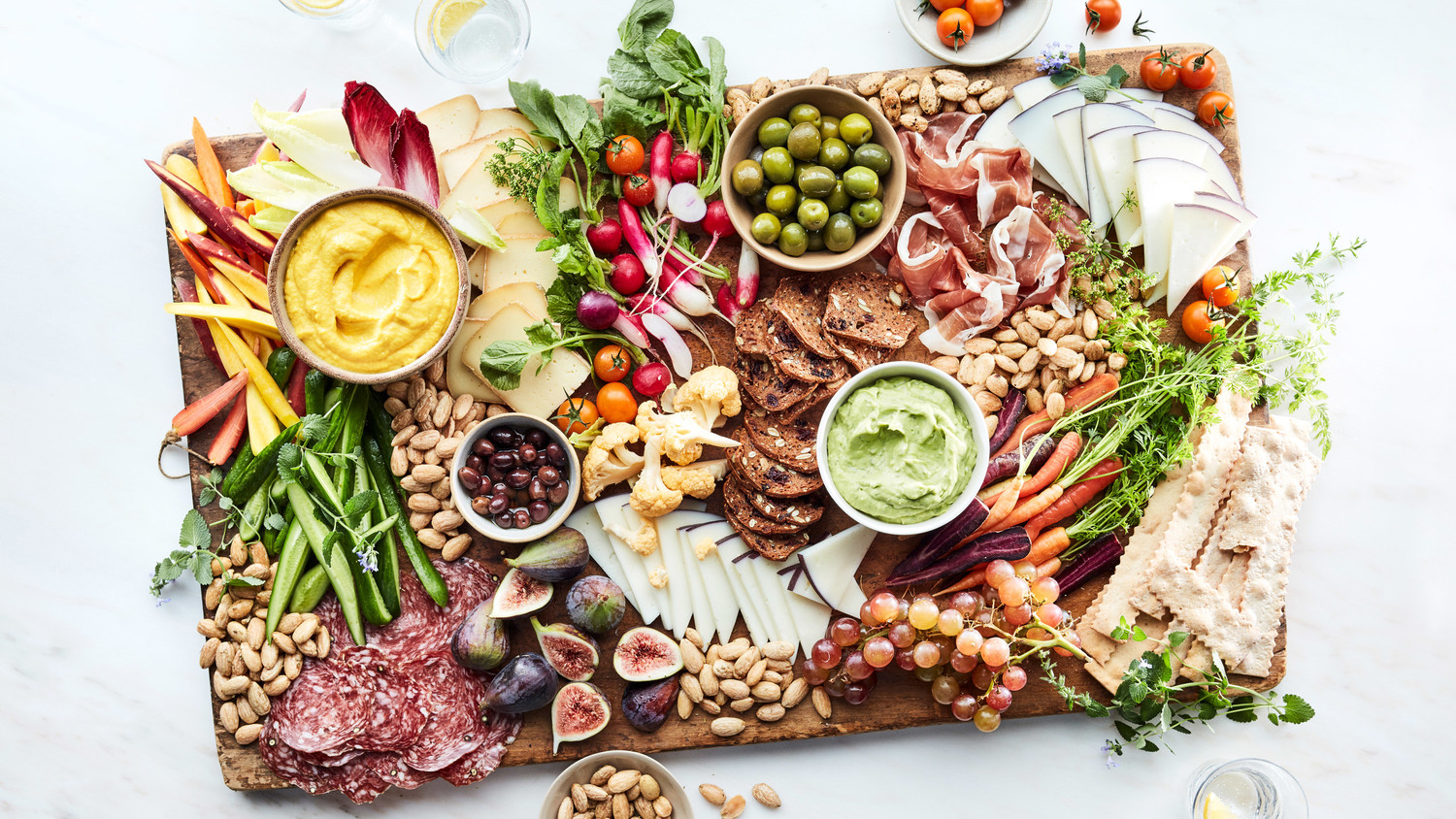 Backyard Halloween Ideas : A summer grazing board is the ultimate snacking experience