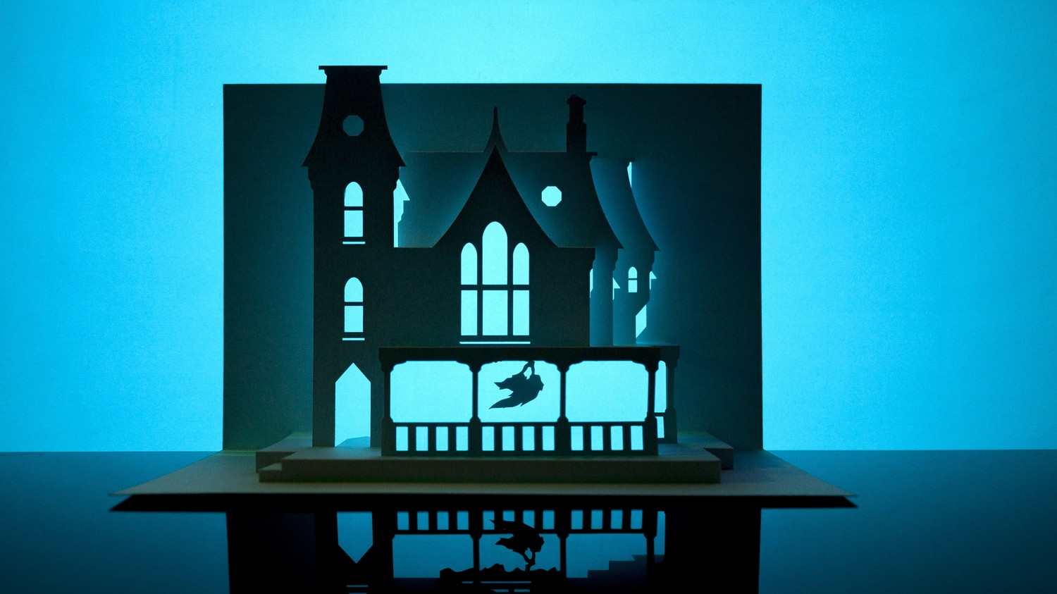 Horrorgami Paper Haunted House