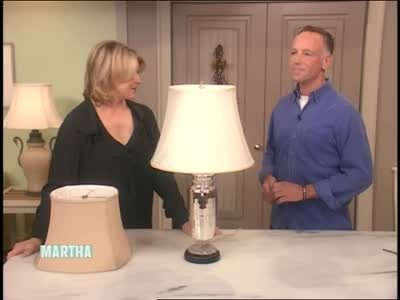Video how to choose the perfect lampshade martha stewart