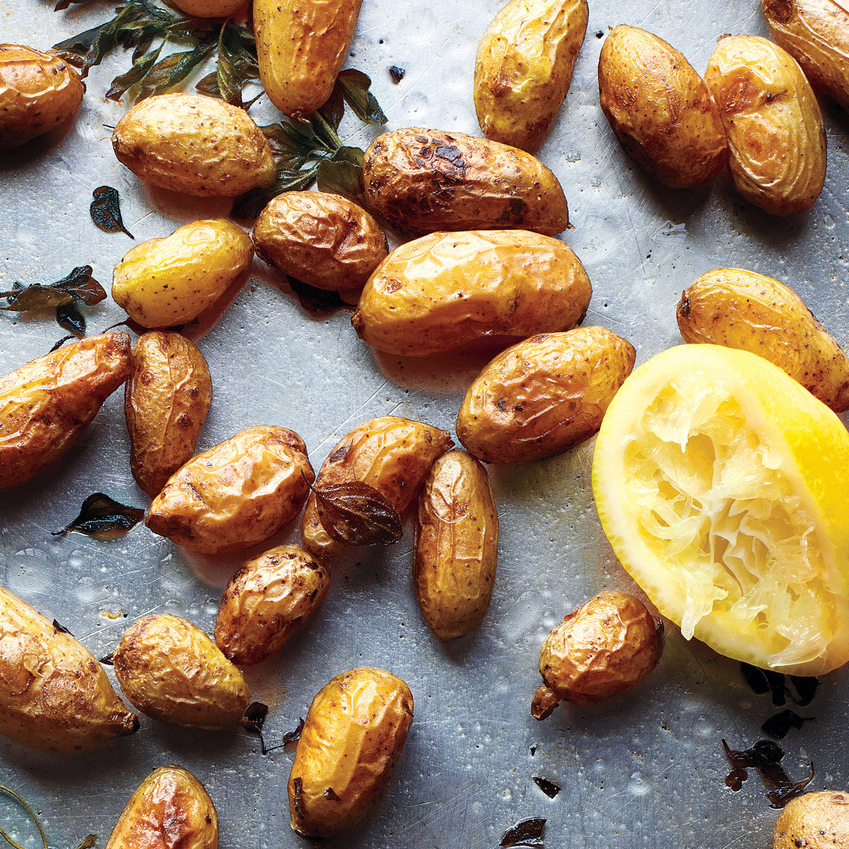 how to make greek style lemon potatoes