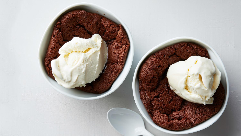 Martha's Warm Chocolate Pudding Cakes
