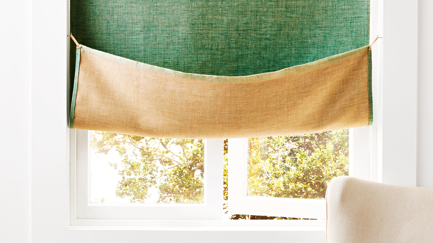 Reversible Linen Curtain