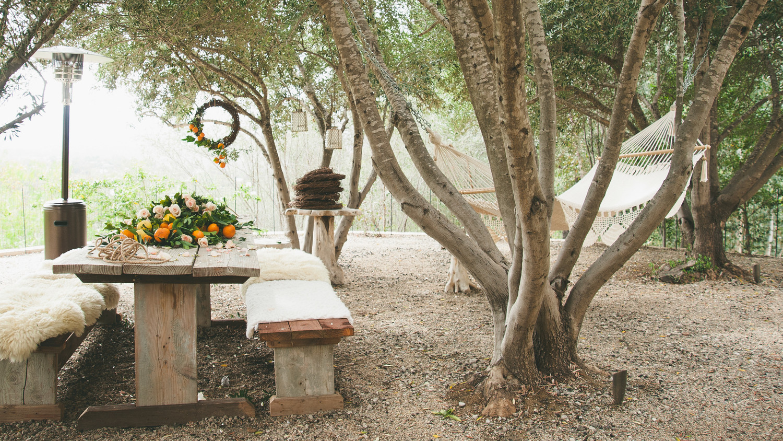 sweet laurel retreat picnic table