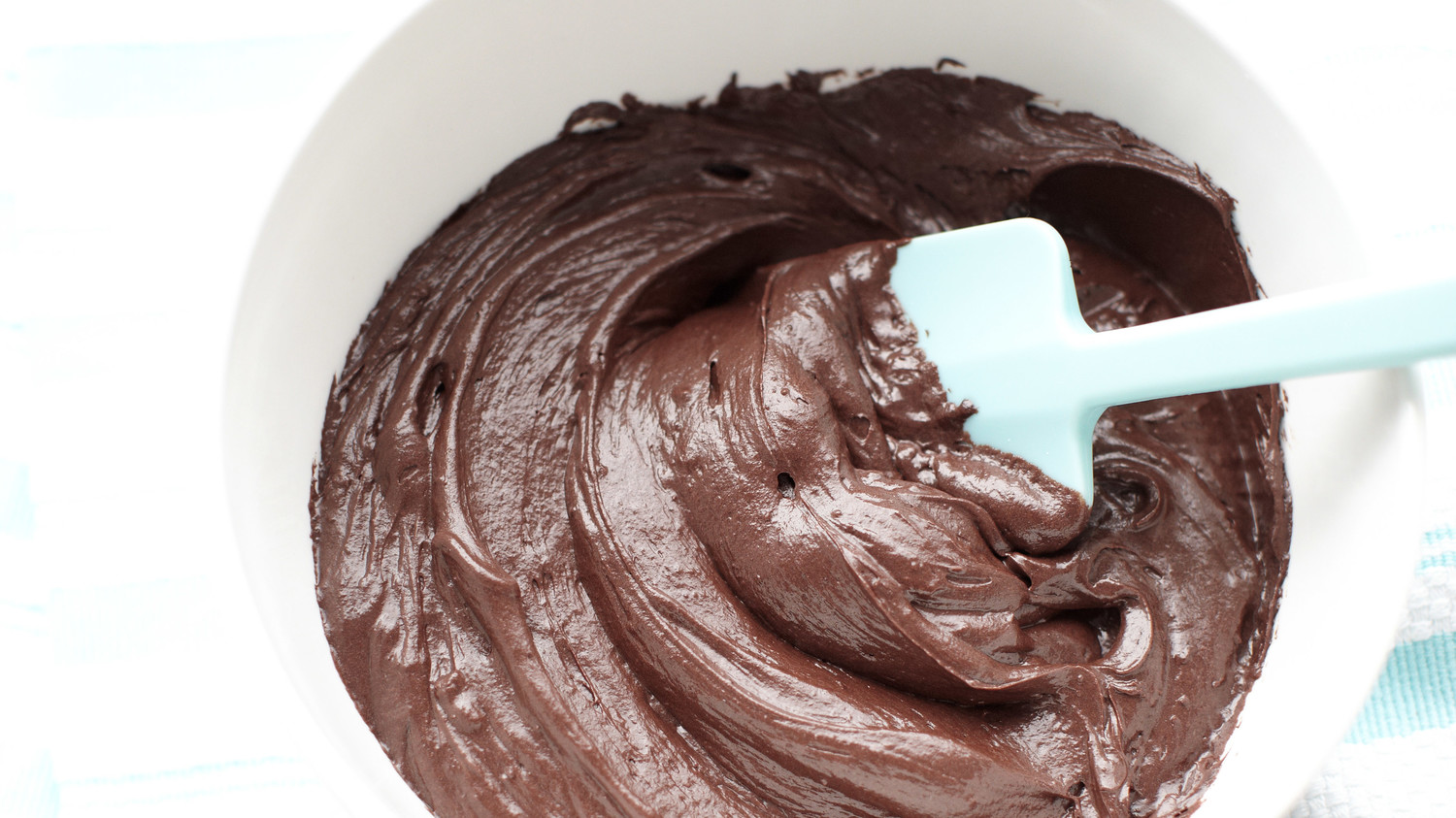 Chocolate fudge frosting with condensed milk