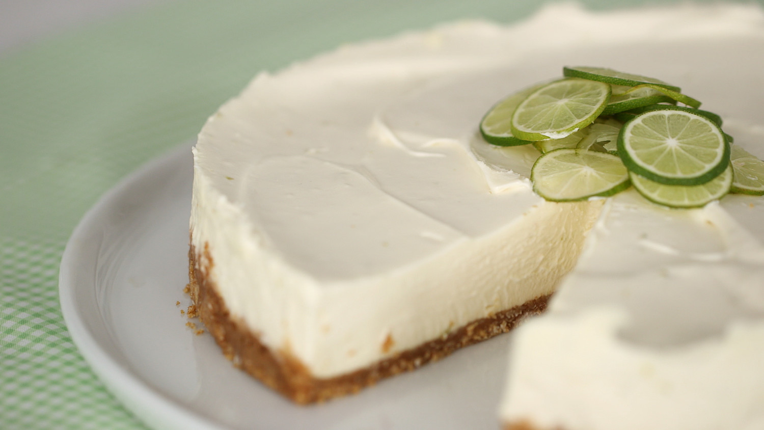 Video Key Lime No Bake Cheesecake Martha Stewart