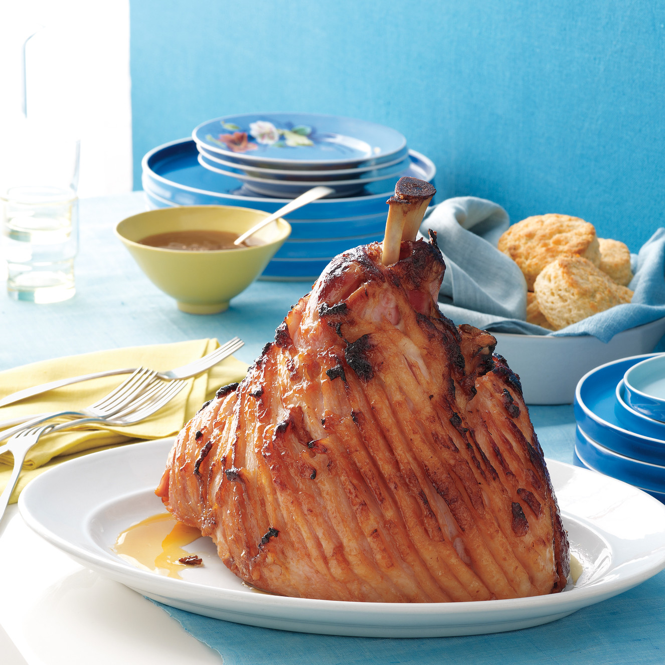 Easter recipes martha stewart delight your guests with ham and biscuits for easter dinner forumfinder Images