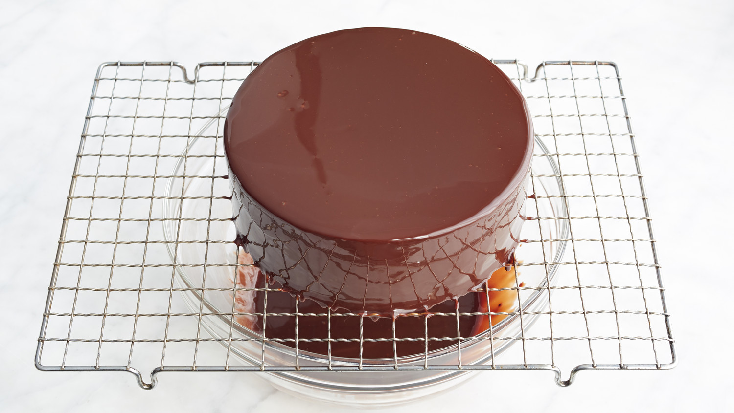 Jacques Torres S Shiny Chocolate Glaze Recipe Martha Stewart