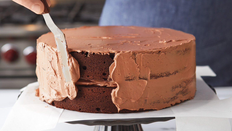 Chocolate Swiss Meringue Buttercream Frosting Recipe