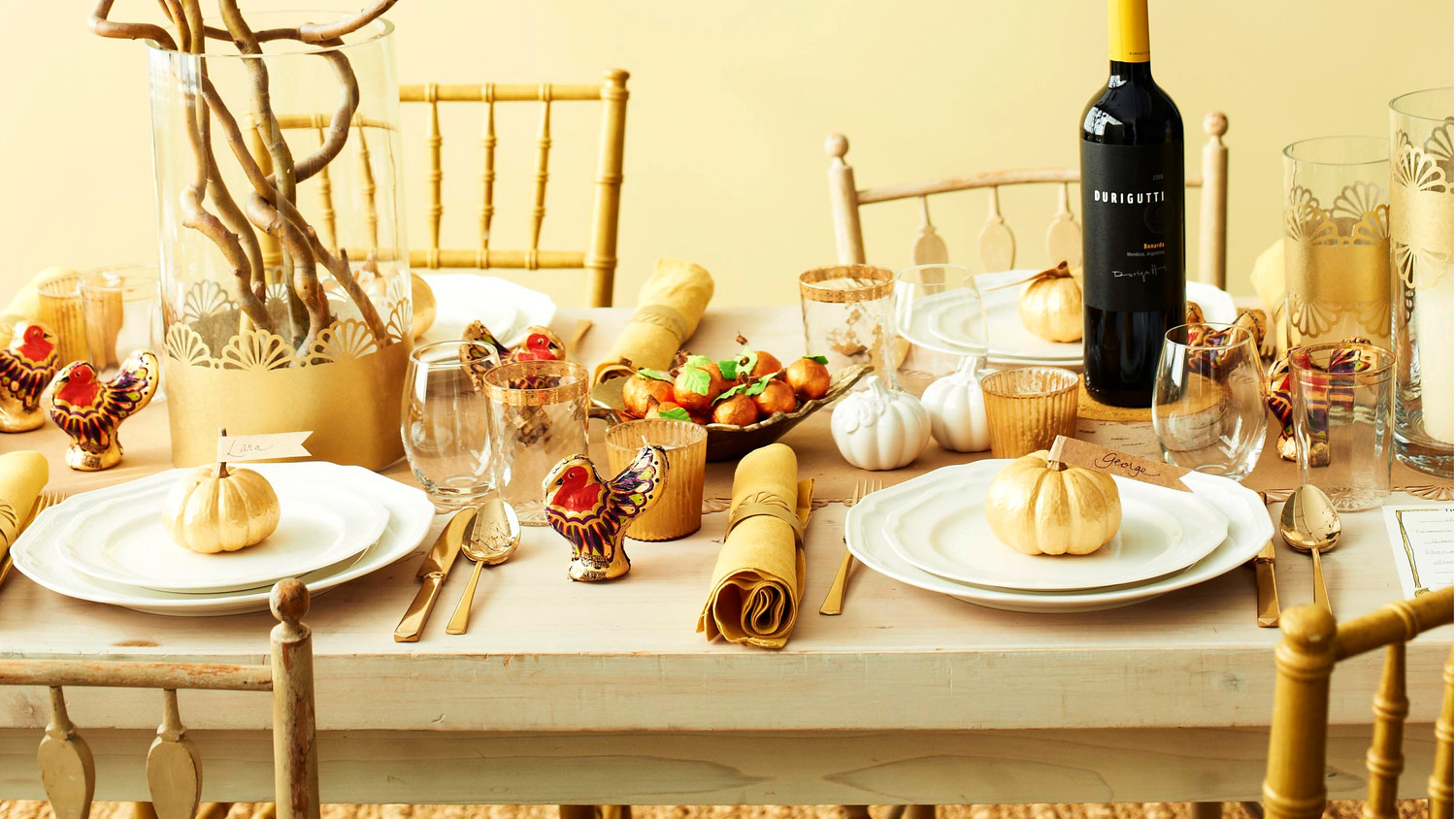 Darcy Miller\'s Thanksgiving Tabletop | Martha Stewart