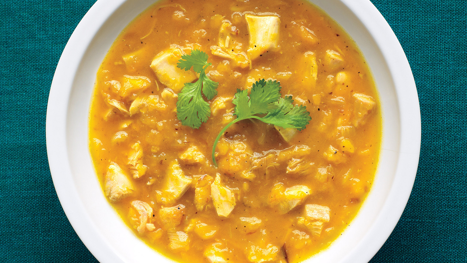 Roasted Chicken And Butternut Soup