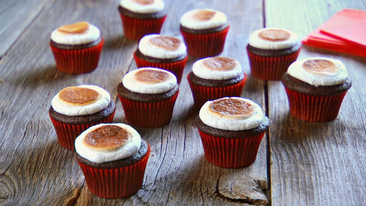 Toasted Marshmallow Cupcakes Recipe Amp Video Martha Stewart