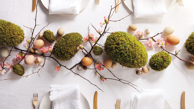 Moss Eggs Martha Stewart