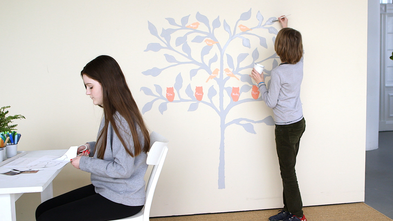 Family Tree Craft Video