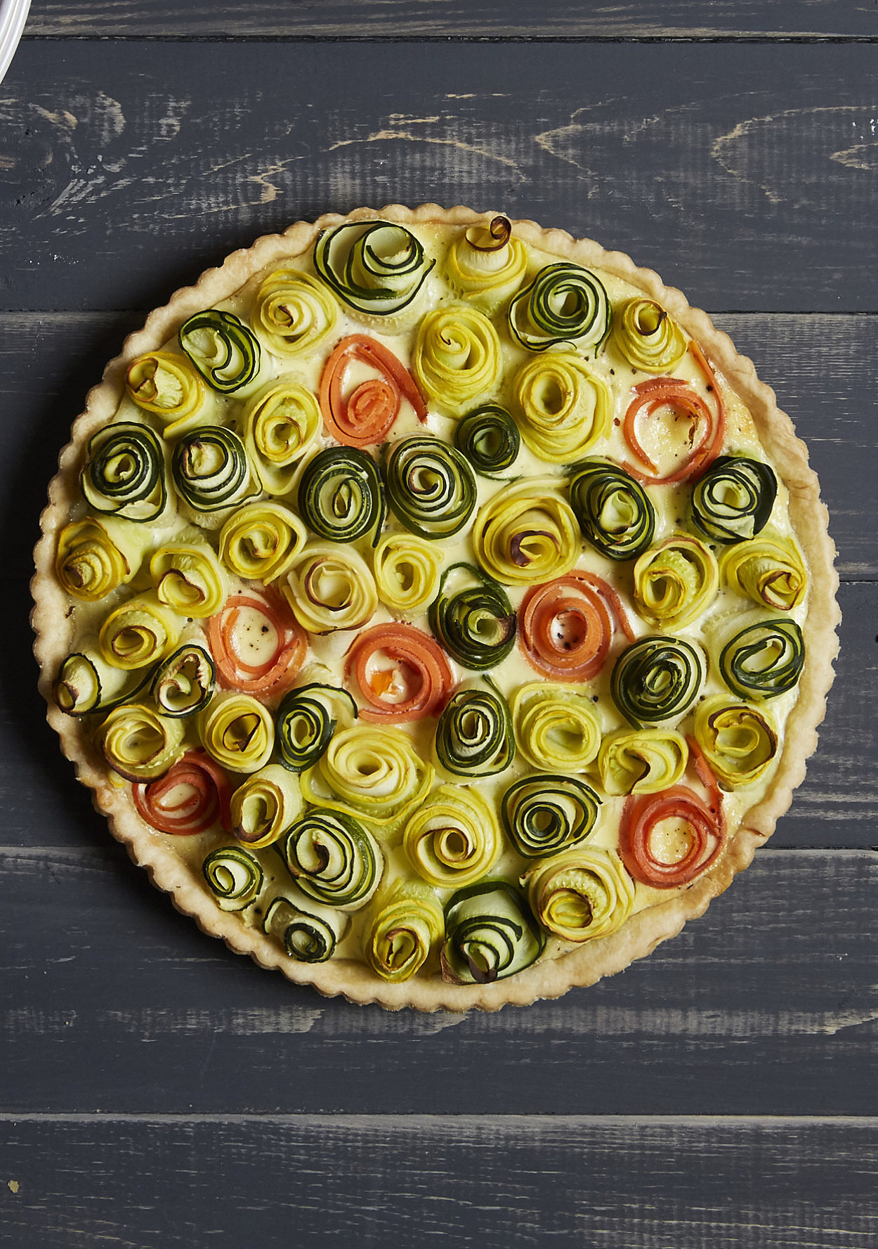 This Blooming Vegetable Quiche Is The Most Beautiful