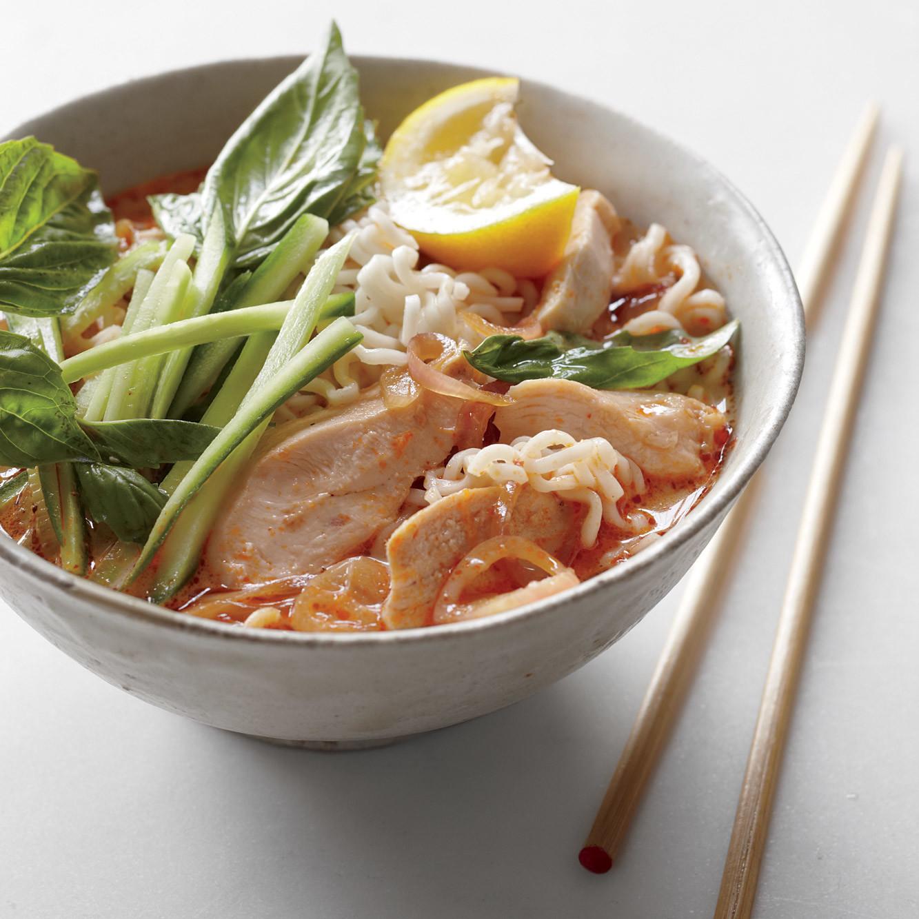 Coconut-Curry Noodle Soup