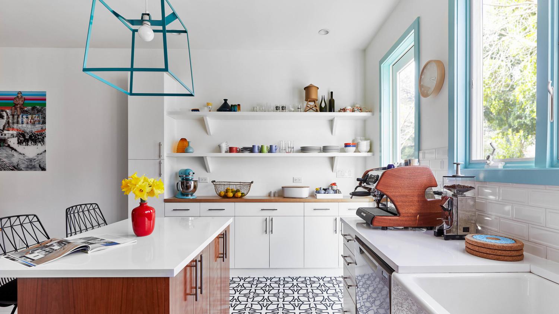 dania colorful home redo kitchen