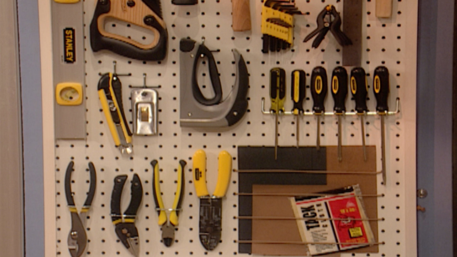 Video How To Make A Pegboard Tool Organizer Martha Stewart