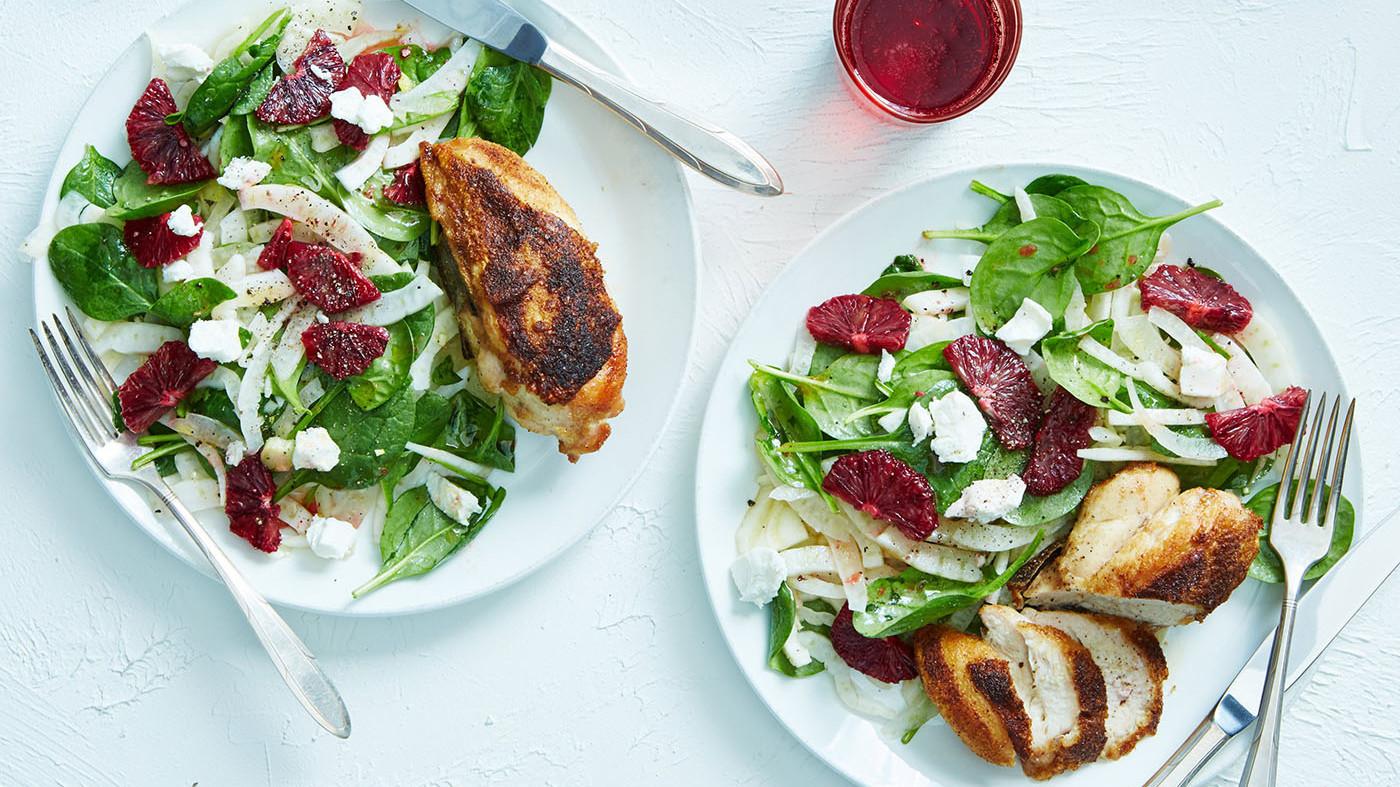 marley spoon chicken salad