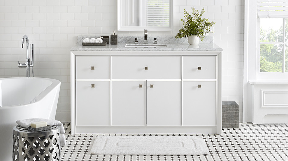 Check Out Martha S New Line Of Bath Vanities For The Home Depot Stewart