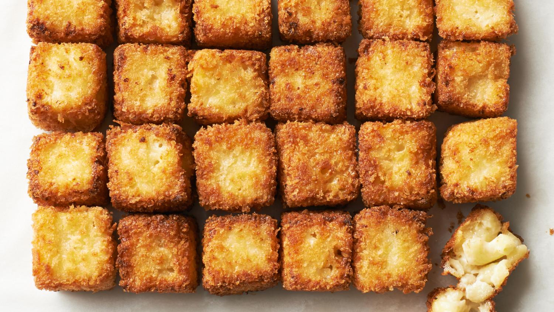 Fried Macaroni-and-Cheese Bites Recipe & Video | Martha Stewart