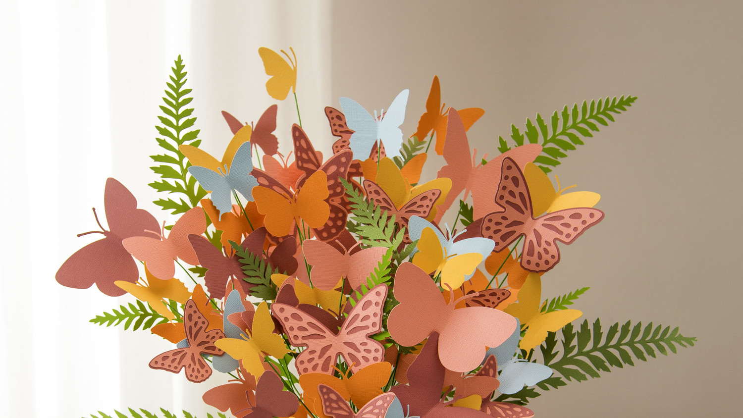 Martha Stewart Cricut® Paper Butterfly Bouquet