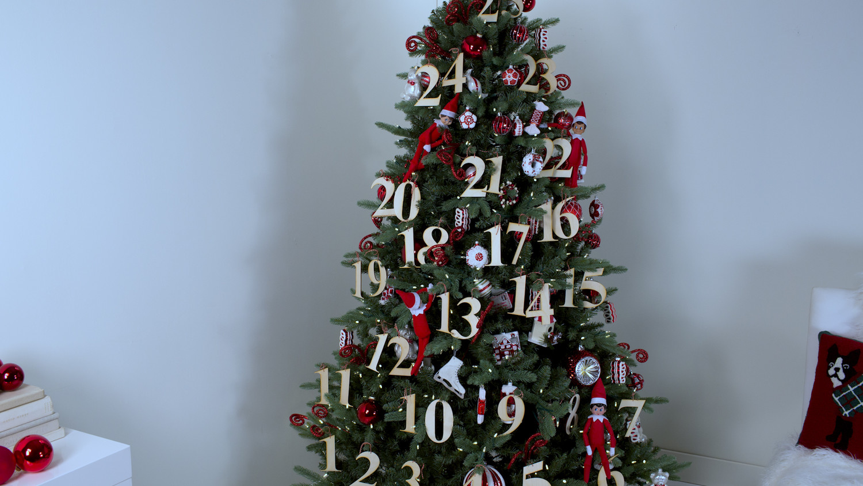 video elf on the shelf christmas tree theme martha stewart rh marthastewart com themed christmas tree decorating kits themed christmas tree decorating kits
