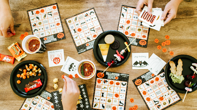 camille styles halloween party bingo