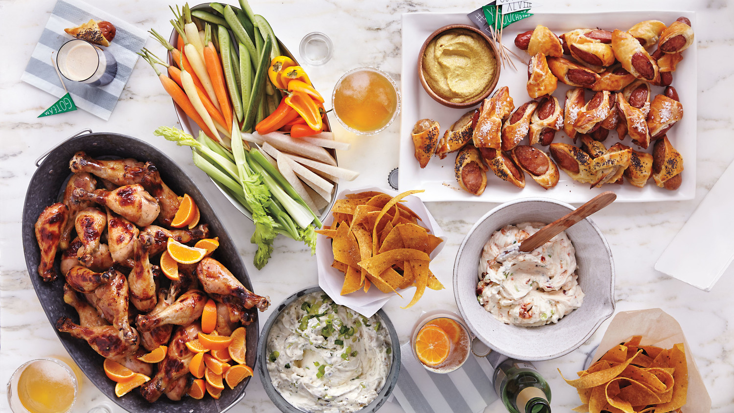 Easy Outdoor Party Food Recipes