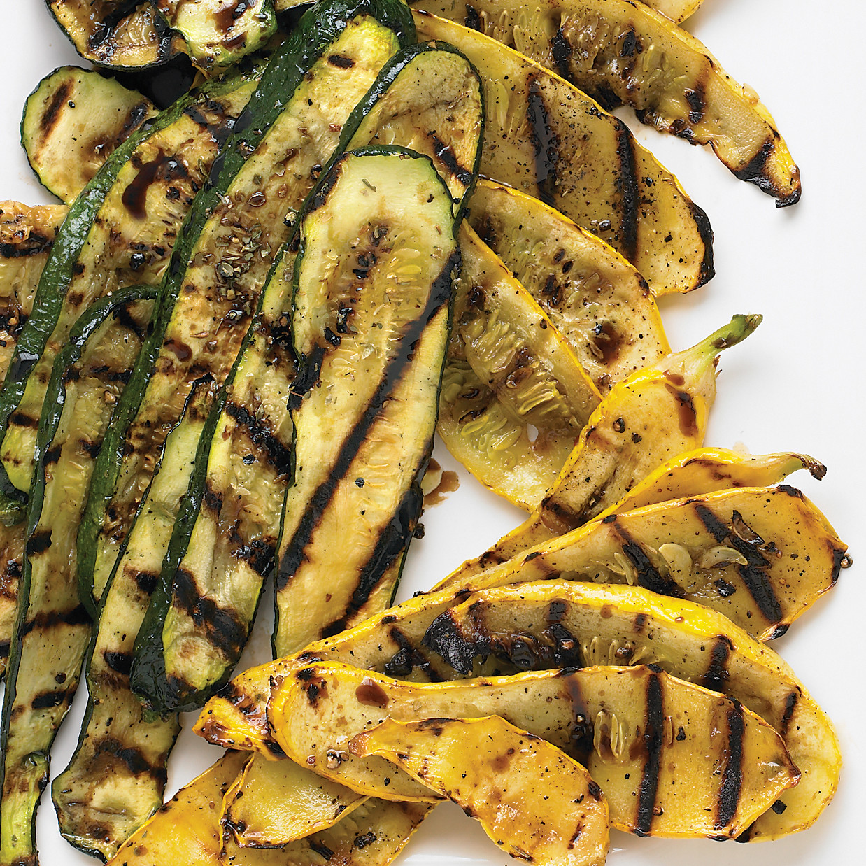 Grilled Zucchini and Summer Squash Recipe | Martha Stewart