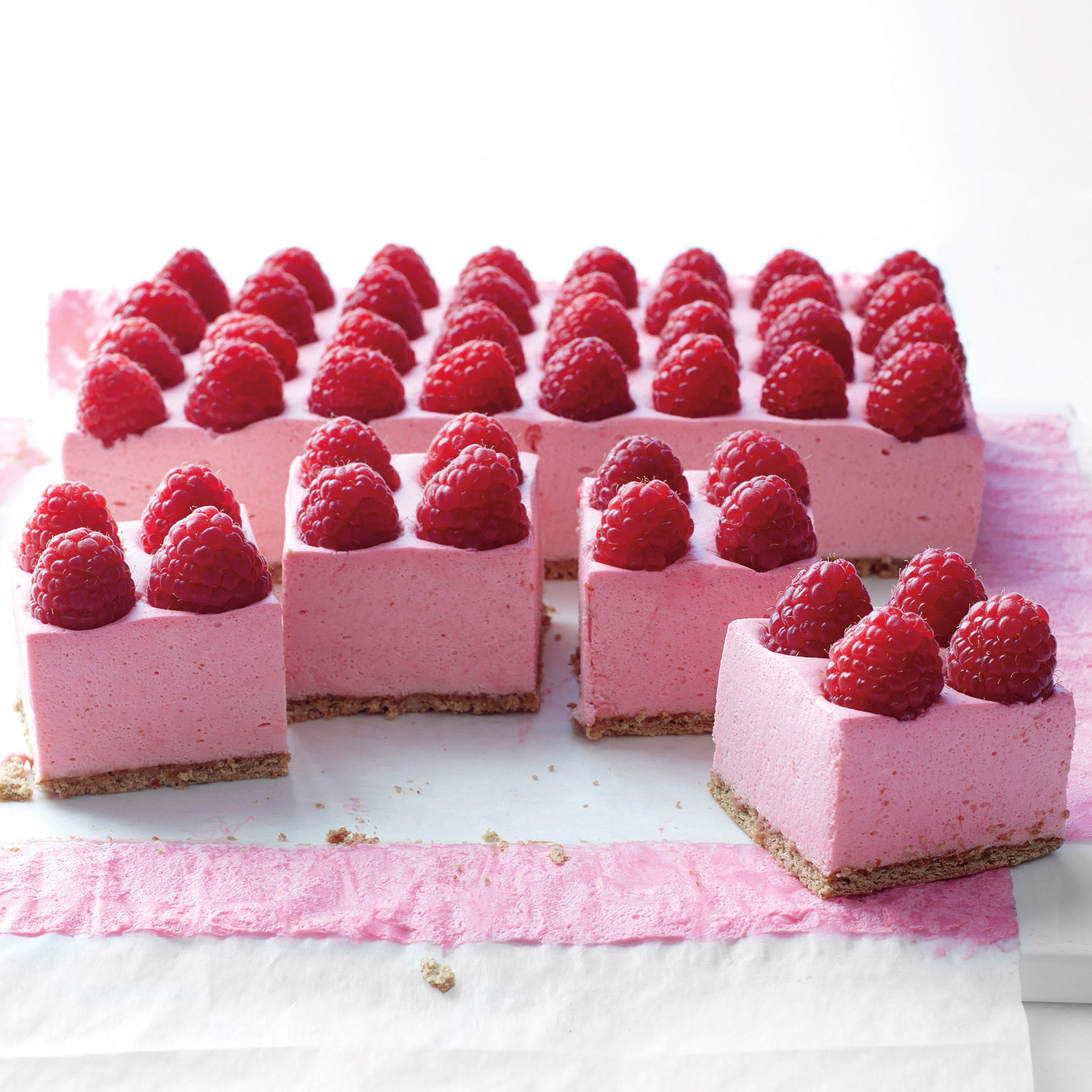 Raspberry mousse recipe without gelatin for Raspberry miroir