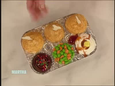 Video tv dinner cupcakes for april fools day martha stewart forumfinder Choice Image