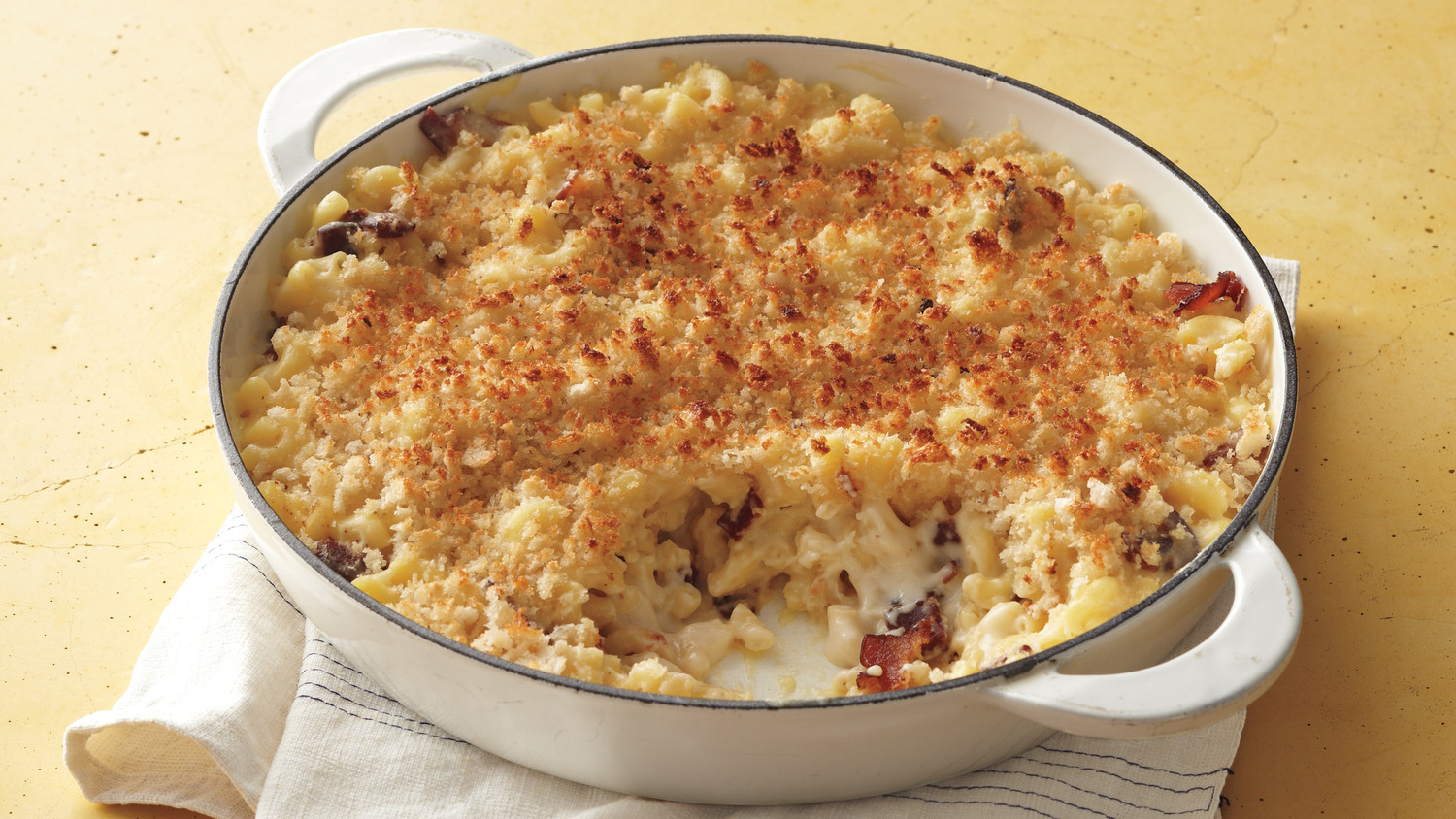 Bacon macaroni and cheese for Better homes and gardens mac and cheese
