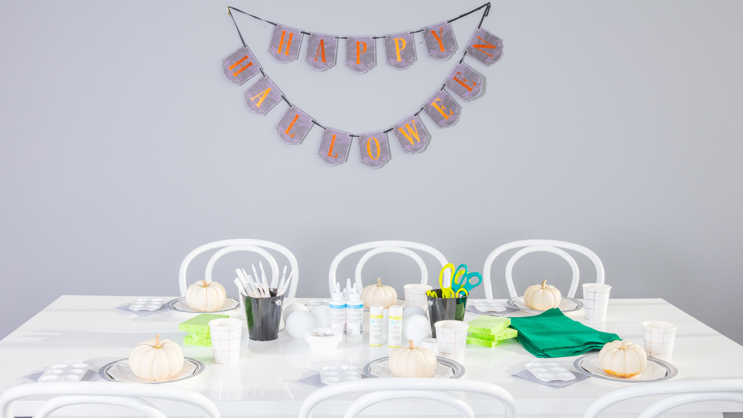 kids Halloween crafternoon party