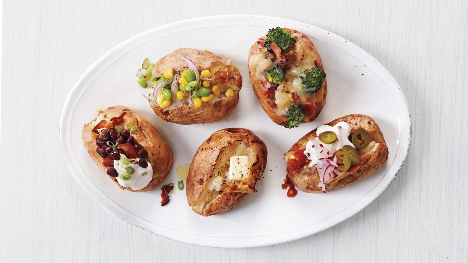 Set Up a Baked Potato Bar For Dinner Tonight | Martha Stewart