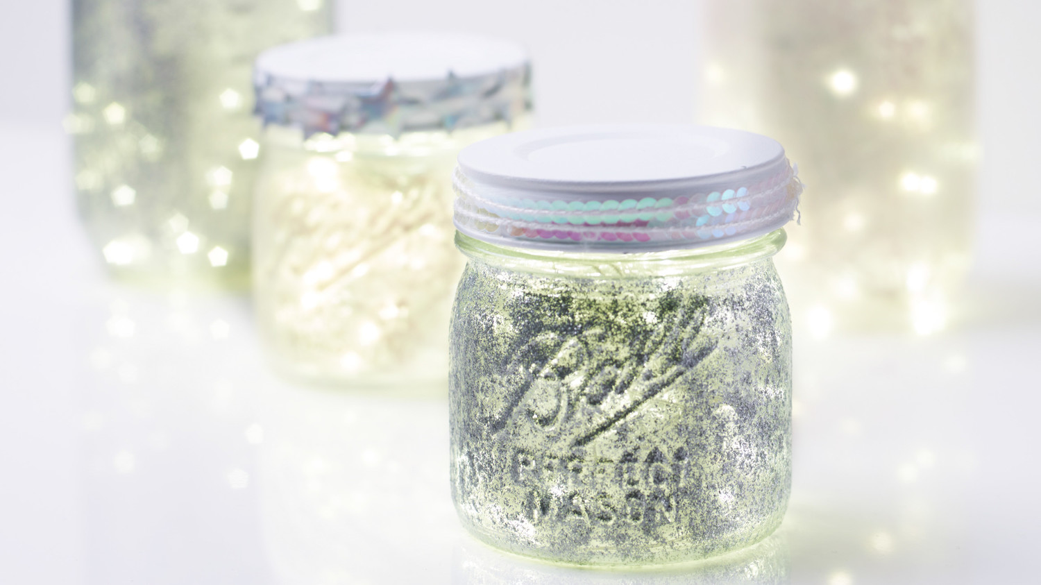 Fairy Light Jars