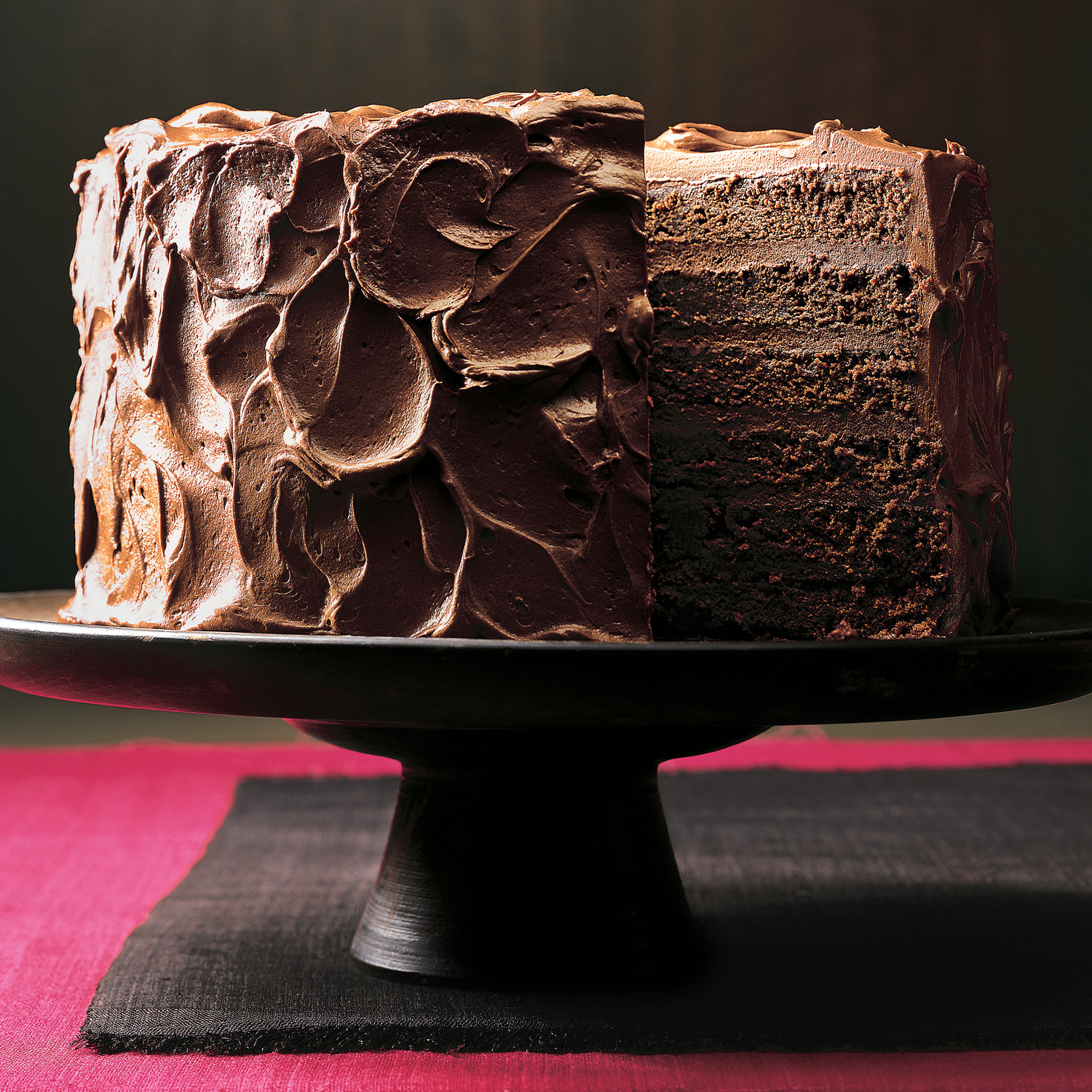 Six Layer Chocolate Cake