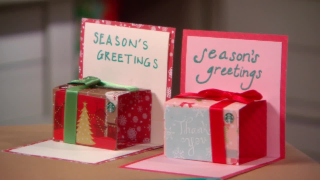 Handmade christmas gift card holder ideas