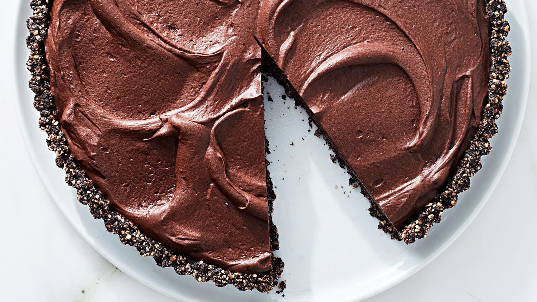 chocolate espresso kahlua tart