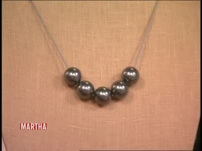 Video How To Make Your Own Faux Pearl Necklace Martha