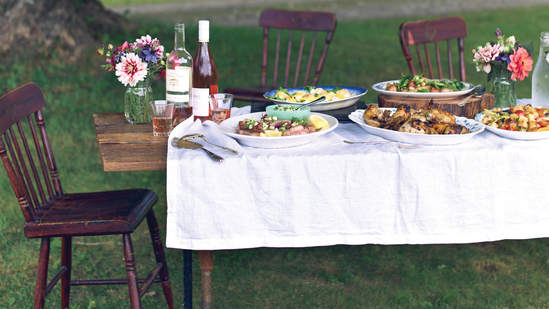 Chef Erin French\'s Farm-to-Table Dinner Party Menu | Martha Stewart