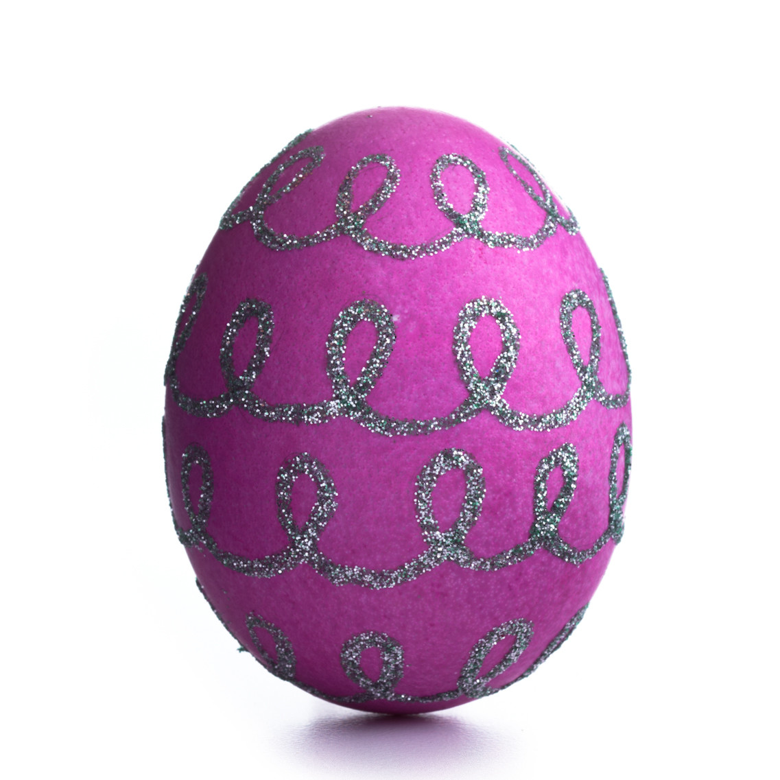 Embossed and glittered easter egg decorating ideas for Easter egg ideas