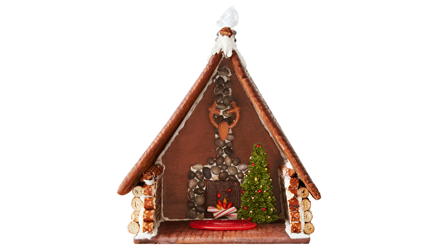 gingerbread house interior