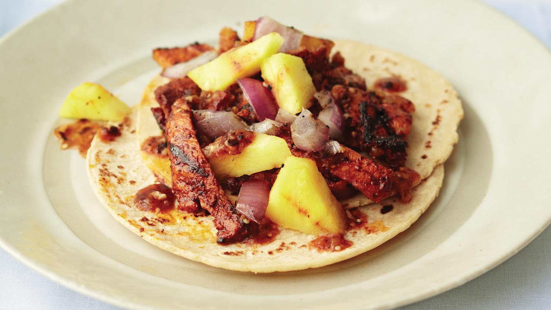 grilled pork tacos al pastor. Black Bedroom Furniture Sets. Home Design Ideas