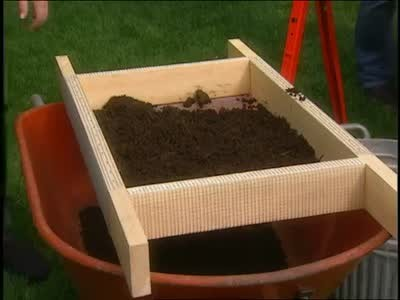 Soil Sifter for Your Garden